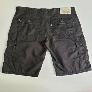 Levi's Bottoms - Levi's Men Flat Front Cargo Short Size 18 Gray